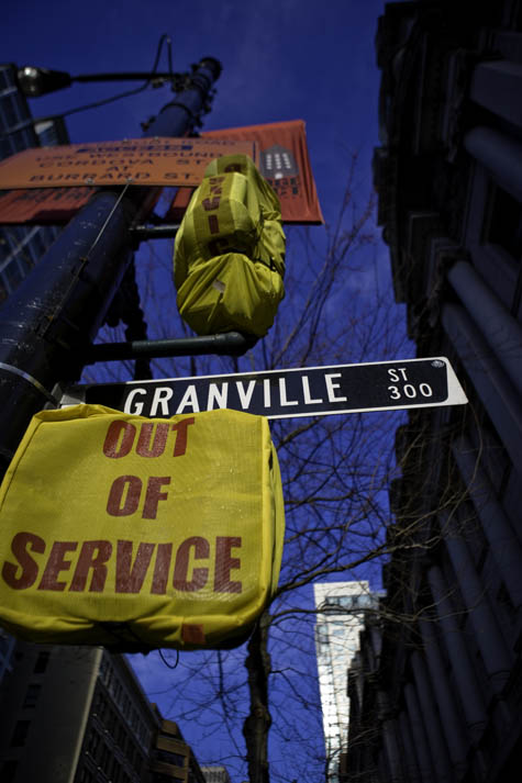 Granville St Is Out Of Service