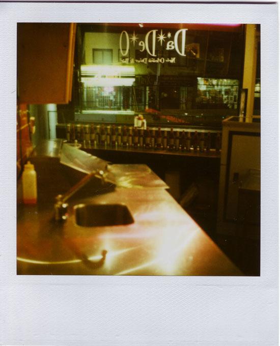 Polaroid of DaDeo Restaurant
