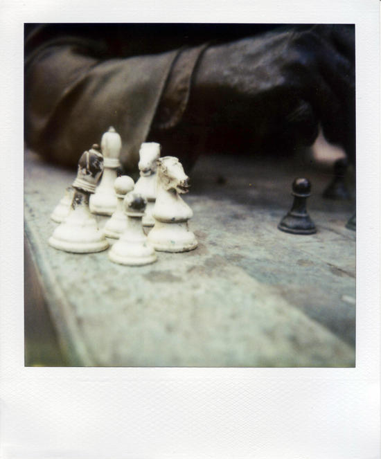 The Chess playing Dude in Calgary!