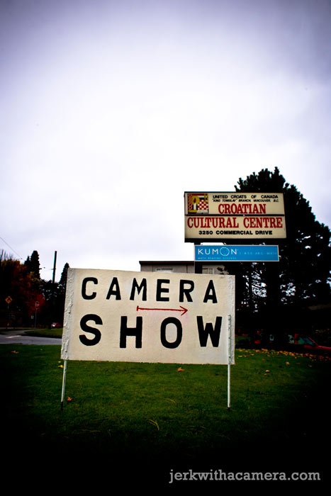 Camera Show = Bust