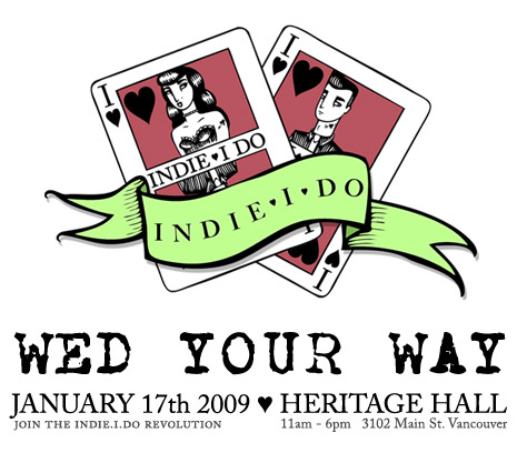 Indie I Do – Vancouver's Alternative Wedding Show