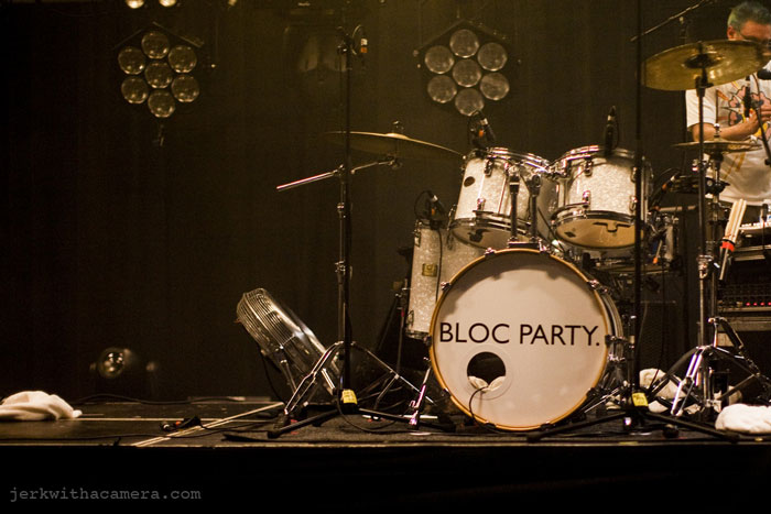 Bloc Party at Commodore Ballroom