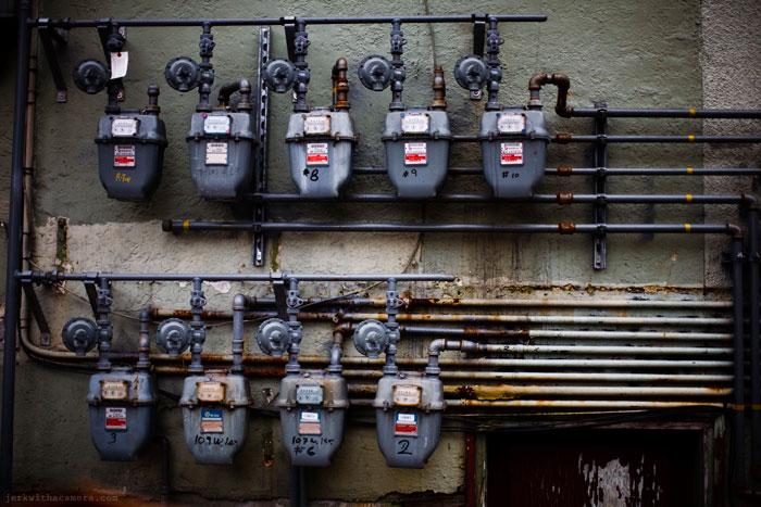 North Shore Gas Meters