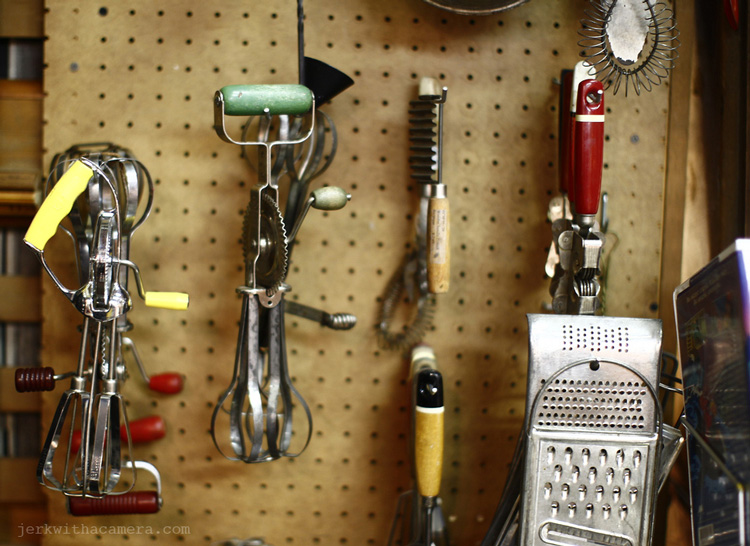 Junk In Antique store