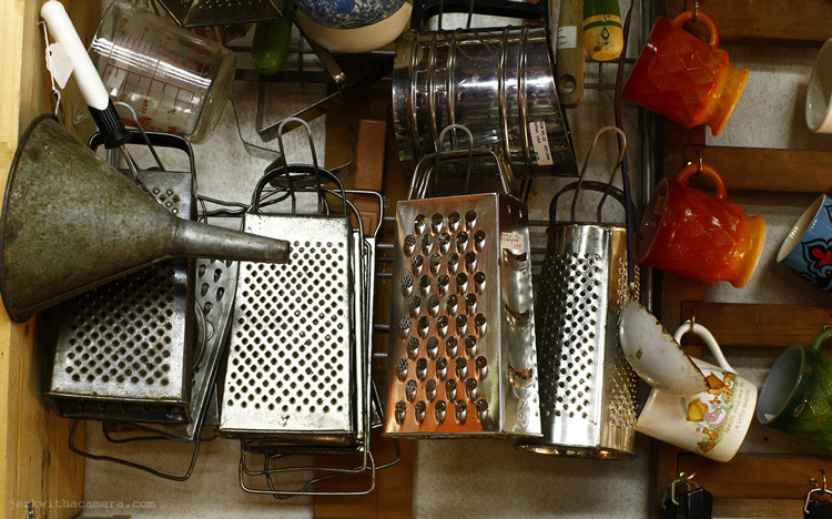 Cheese Grater In Antique store
