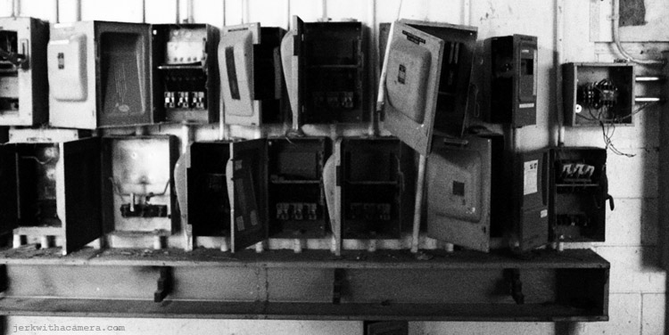 Richmond Ruins - Power Boxes