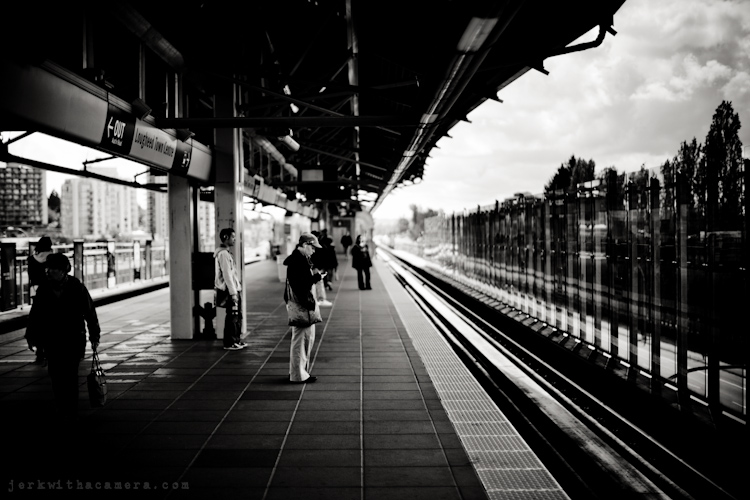 Camera Show - People at the skytrain