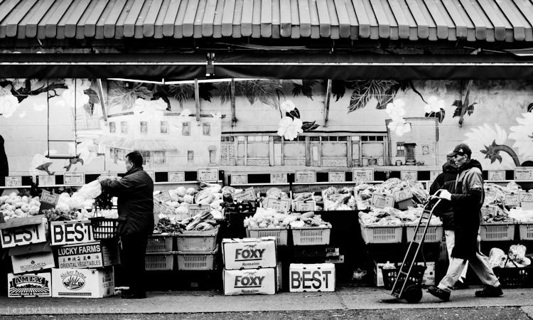 Sunrise market Hastings