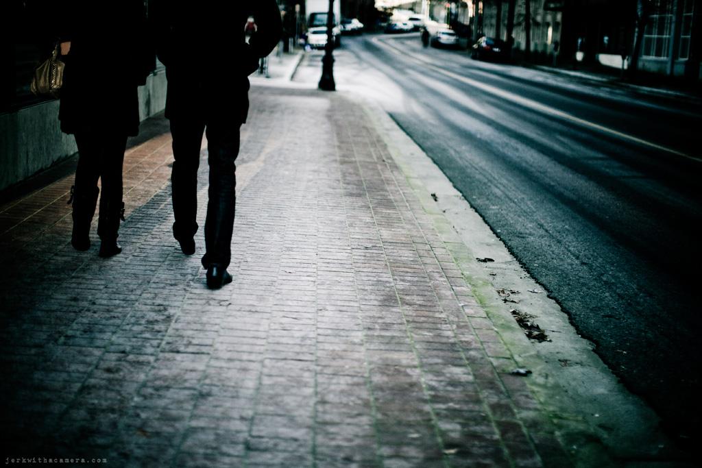 Sidewalk Stalking
