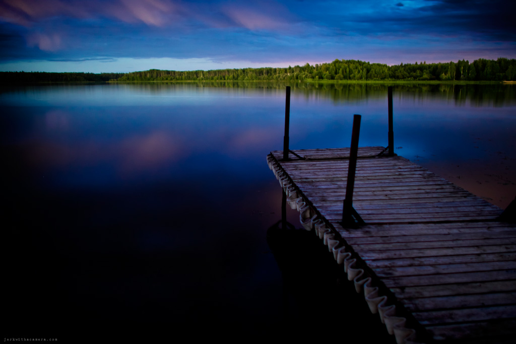 Road Trip To Alberta – Docks At Night