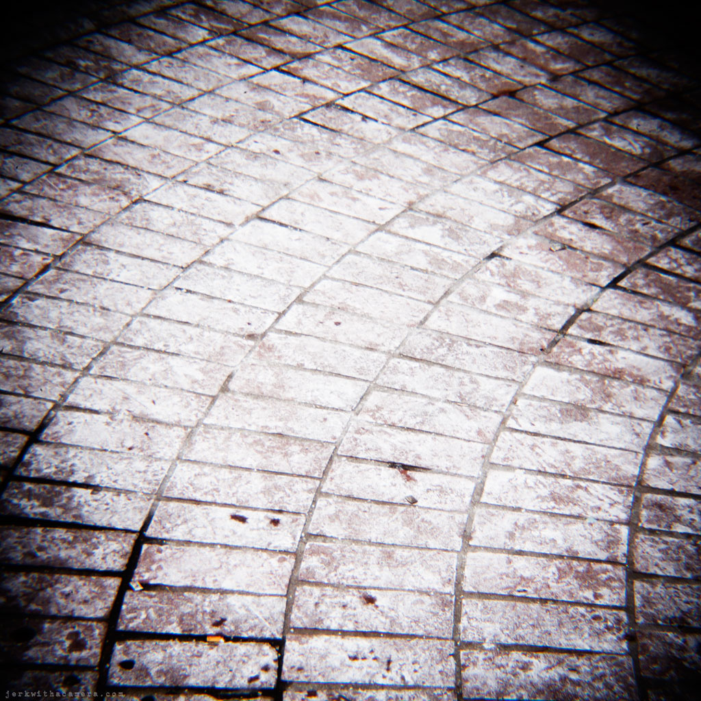 Salty Sidewalk - Digital Holga
