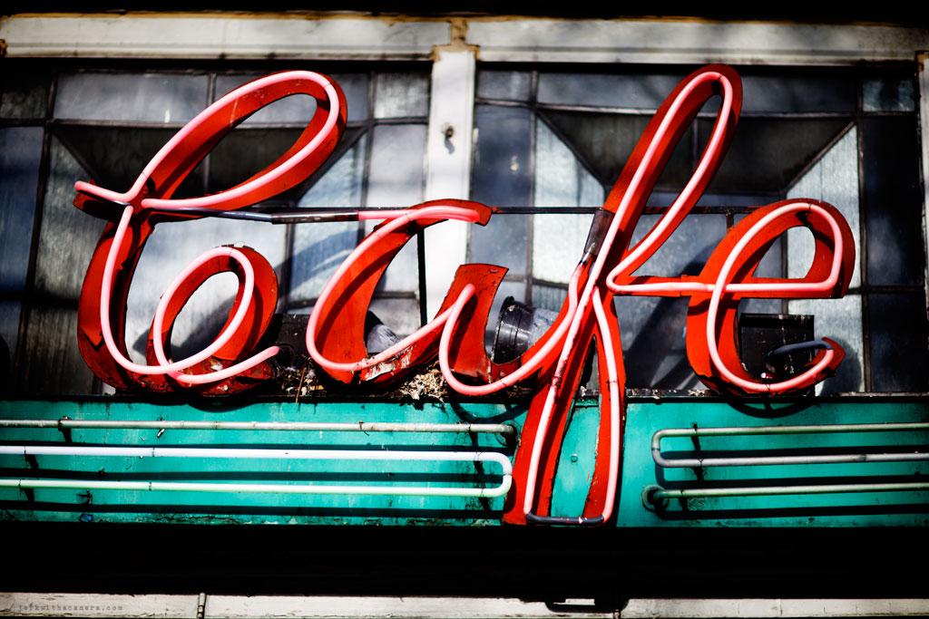 Neon Signs On Hastings Street