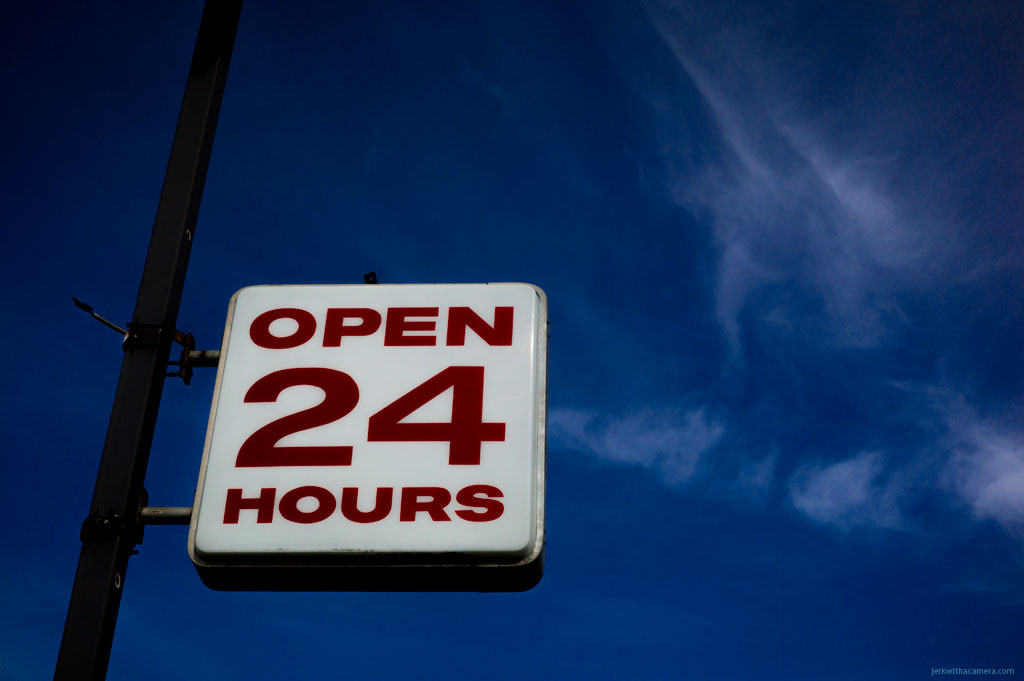 Edmonton - Open 24 Hours