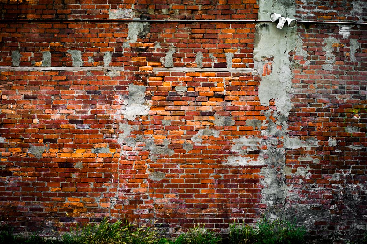 Vancouver China Town - Brick Wall