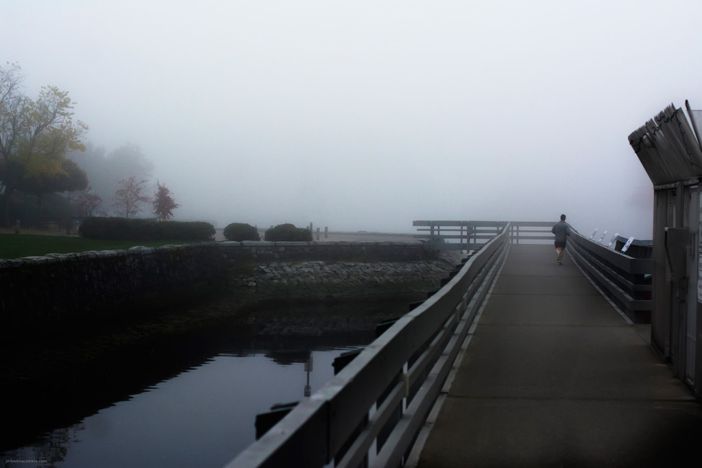 Foggy Vancouver
