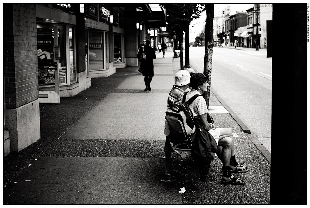 Picking On Complete Strangers - Nikon DF - Vancouver