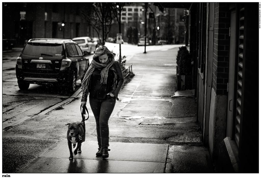 Picking On Complete Strangers - Nikon D800 - Railtown Walking in the rain