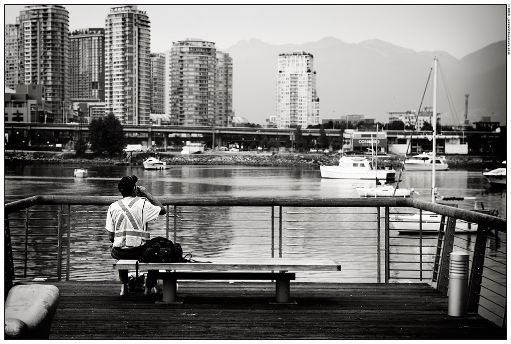 Picking On Complete Strangers - Nikon D800 - Vancouver Olympic Village