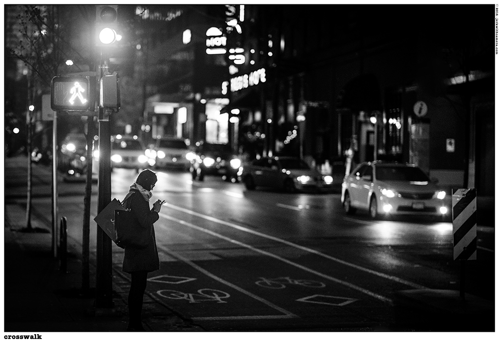 Picking On Complete Strangers - Nikon D610 - Vancouver at Night