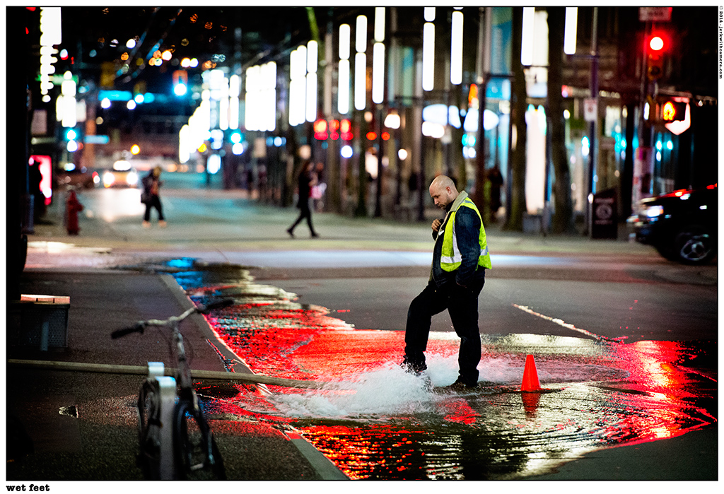 Picking On Complete Strangers – Vancouver at Night