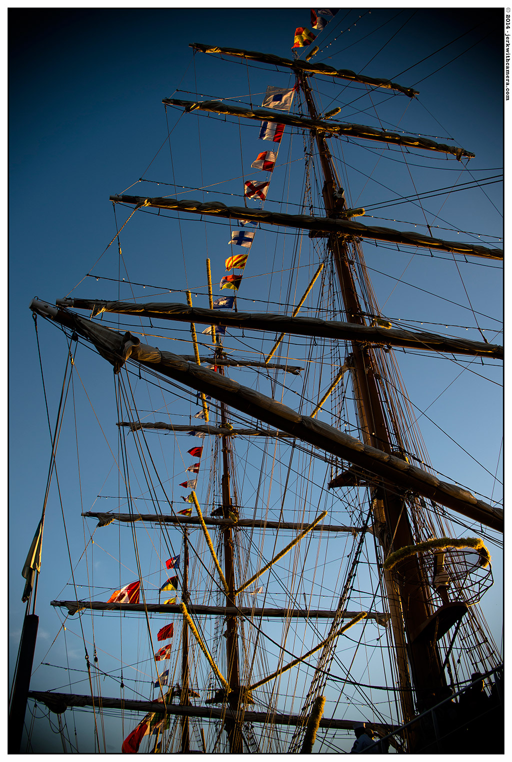 nikon DF - Mexican Navy's tall ship Cuauhtémoc at the Burrard Dry Dock Pier