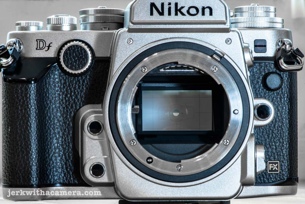 My Review of the Nikon DF Split Manual Focusing Screen