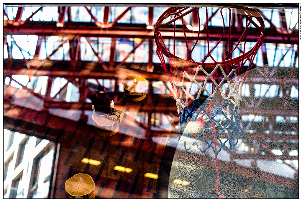 Multiple Exposure - Woodwards - Basketball Court
