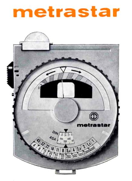 Metrastar Light Meter