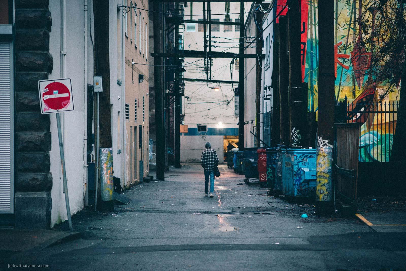 Alley Morning