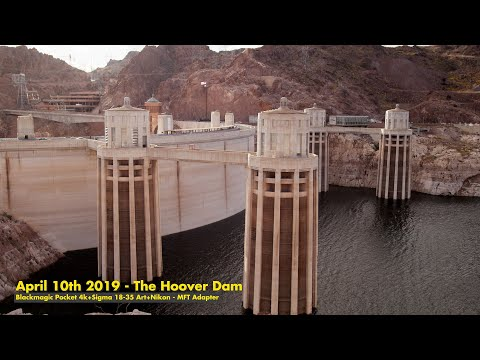 The Hoover Dam – with the BMPCC4K