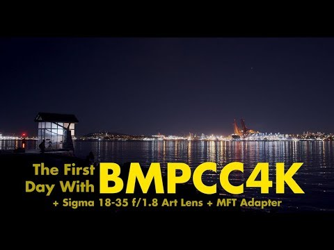 First Footage From The Blackmagic Pocket 4K