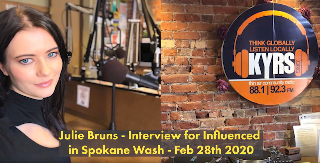 Interview with Julie Bruns for our film Influenced