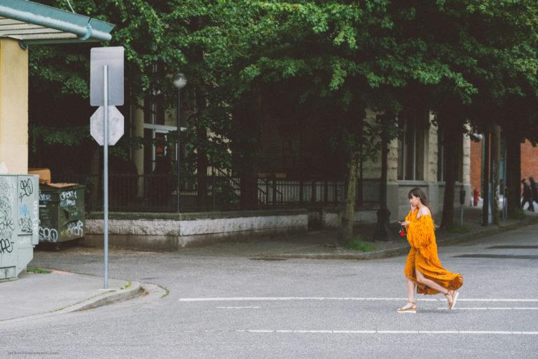 Lady in Orange.