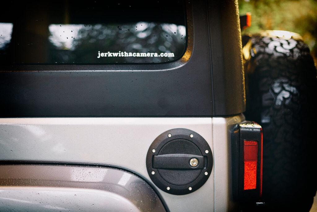 Barricade Locking Fuel Door