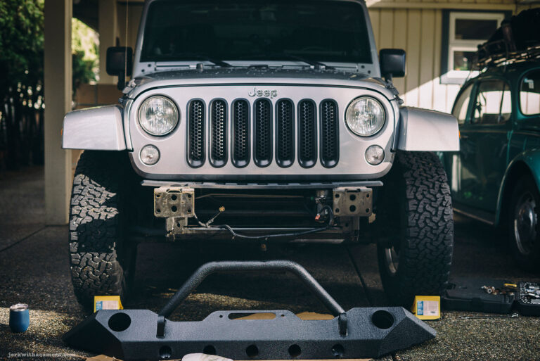 Barricade Trail Force HD Front Bumper for Tiny